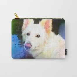 The White Shepherd Carry-All Pouch