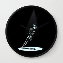Anti -Gravity Wall Clock