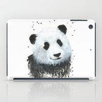 percy jackson iPad Cases featuring Percy the Panda by Linden Reekie