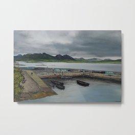 Roundstone Harbour, Connemara, Gallway, Ireland Metal Print
