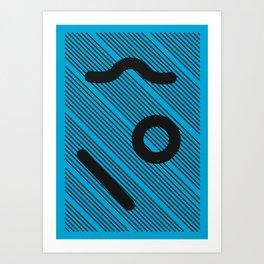 Geometric Calendar - Day 18 Art Print
