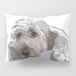 Shaggy Dog Pillow Sham