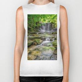 Clywedog Waterfall Biker Tank