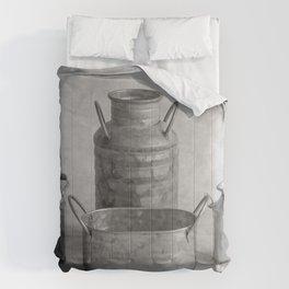 Four Tins Comforters