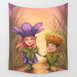 Children of Spring Wall Tapestry