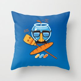 Anti-Mindbenders survival kit Throw Pillow