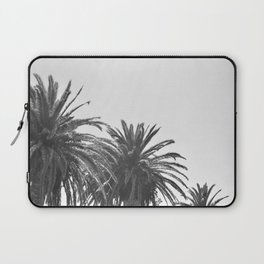 Black and White Palm Trees 02 Laptop Sleeve