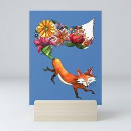 Hunt Flowers Not Foxes Two Mini Art Print