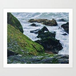 Sea Walk Art Print