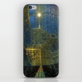 The City Wide and Broad iPhone Skin