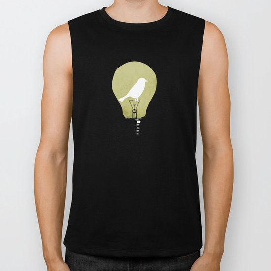 ideas take flight Biker Tank