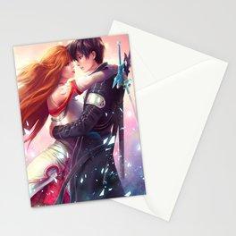 Kirito and Asuna Stationery Cards