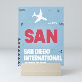 San Diego California Mini Art Print