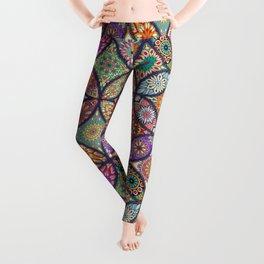 Colorful Mandala Leggings