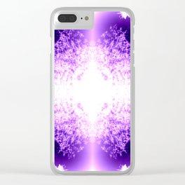 WildLilac Clear iPhone Case