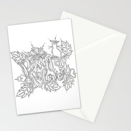 Pussy Lover Adult Coloring Design Stationery Cards