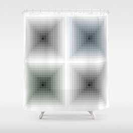 All theory is grey (J.W. Goethe) Shower Curtain