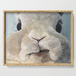 Jimmy The Bunny Serving Tray