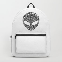 Alien Mushroom Mandala Backpack