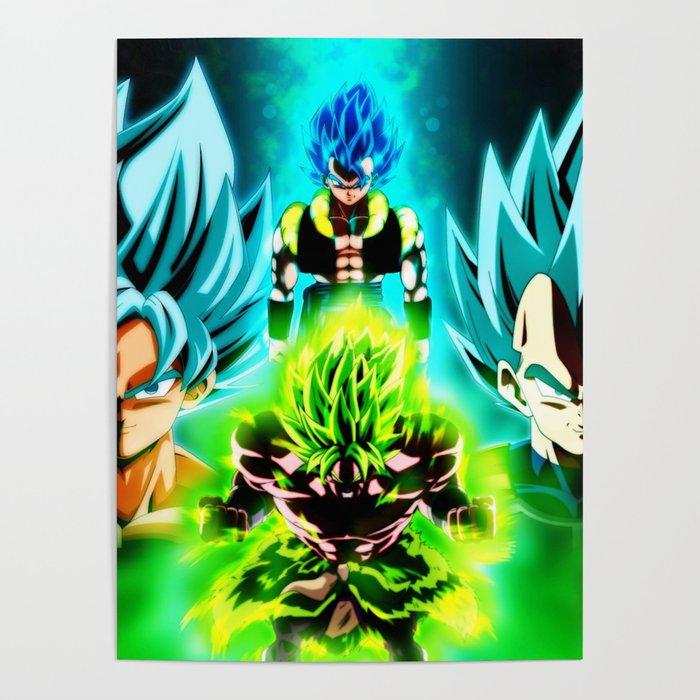 Dragonballsupermovie Broly Poster By Kevincrews