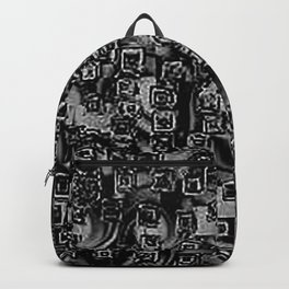 Pixelated Boxes Backpack