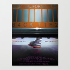 Back To The Future - Mag Canvas Print
