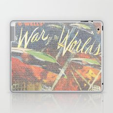 War Of The Worlds Script Print Laptop & iPad Skin