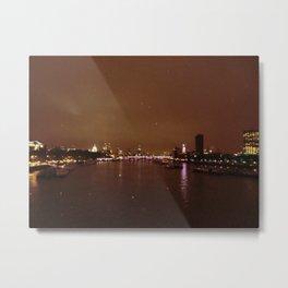 View From Waterloo Bridge #01  Metal Print