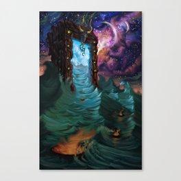 Divine Ingress Canvas Print