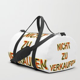 NOT FOR SALE E Duffle Bag