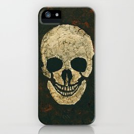 JT Skull iPhone Case