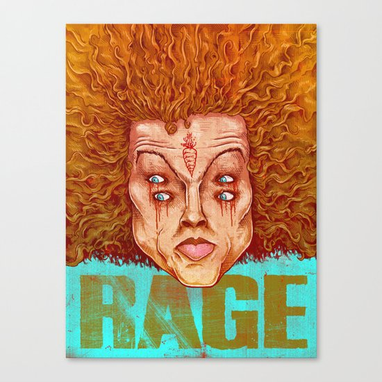 Carrot Top - ArtBattleLA Canvas Print