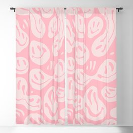 Liquify Pinkie Blackout Curtain