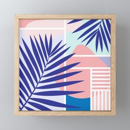 Memphis Mood Framed Mini Art Print