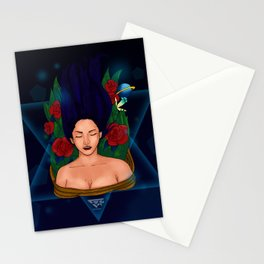 Dream Girl Stationery Cards