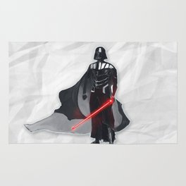 Darth Vader Space Warrior Rug