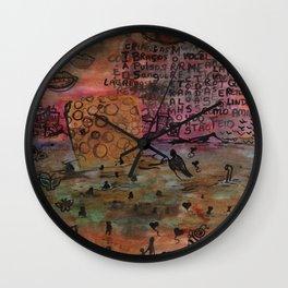 Gore Sponge Wall Clock