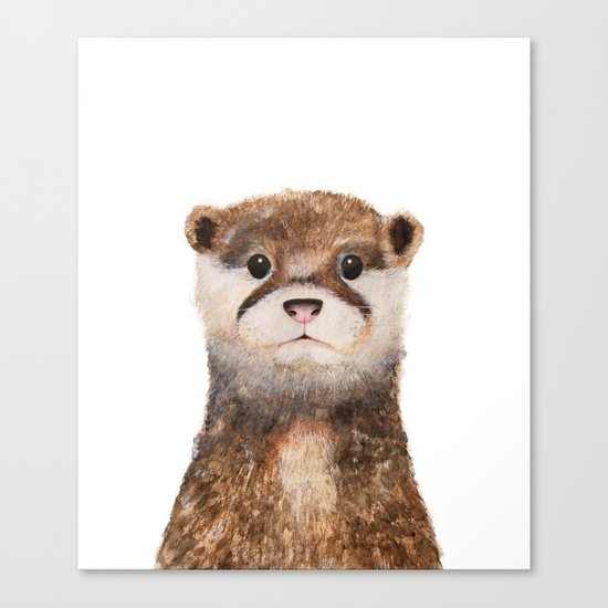 Little Otter Canvas Print