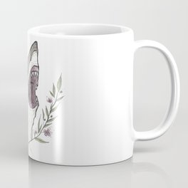 Floral Shark Coffee Mug