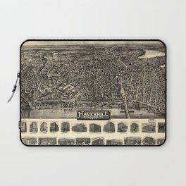 Aerial View of Haverhill, Massachusetts (1914) Laptop Sleeve
