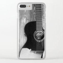 Acoustic Guitars Clear iPhone Case