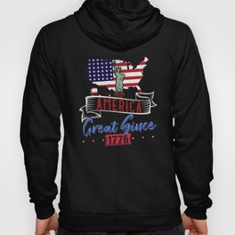 AMERICA GREAT SINCE 1776 Hoody