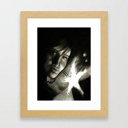 star light les Framed Art Print