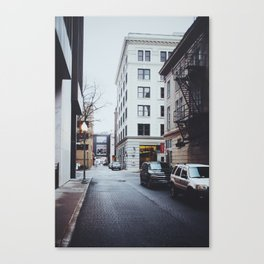 Kirk Ave. Canvas Print