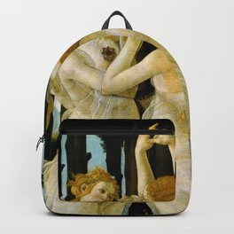 "Sandro Botticelli ""Spring"" The Three Graces (2) Backpack"