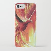 phoenix iPhone & iPod Cases featuring phoenix by OLHADARCHUK