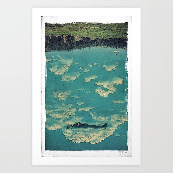 Recycling Air Art Print