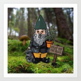 Gnome Grown Art Print