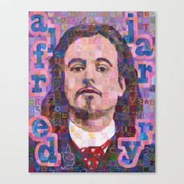 Portrait Of Alfred Jarry Canvas Print