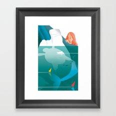 Illustre Conero - the Older Sister Framed Art Print